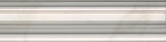 Керамическая плитка Висконти Бордюр Багет белый BLB042 20×5