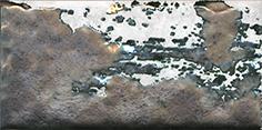 Керамическая плитка Граффити Декор металл серый светлый TG A04 19065 20×9