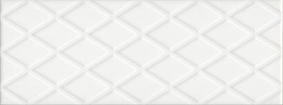 Керамическая плитка Спига белый структура 15142 15×40