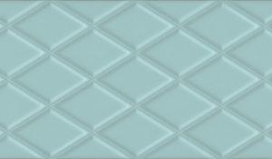 Керамическая плитка Спига голубой структура 15140 15×40