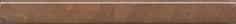 Керамическая плитка Стемма Карандаш коричневый PFE025 20×2