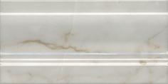 Керамическая плитка Стемма Плинтус белый FMD024 20×10