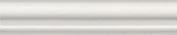 Керамическая плитка Тортона Бордюр Багет белый BLD046 15×3
