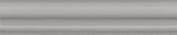 Керамическая плитка Тортона Бордюр Багет серый BLD051 15×3