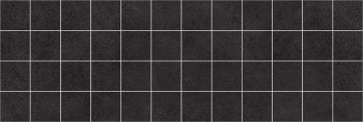 Керамическая плитка Alabama Декор мозаичный чёрный MM60062 20×60