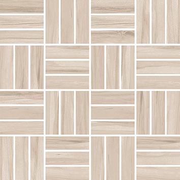 Керамическая плитка Botanica вставка мозаика коричневый (A-BN2L111 J) 30×30