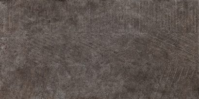 Керамогранит Бруклин 4 тип 1 Керамогранит тёмно-серый рельеф 30×60