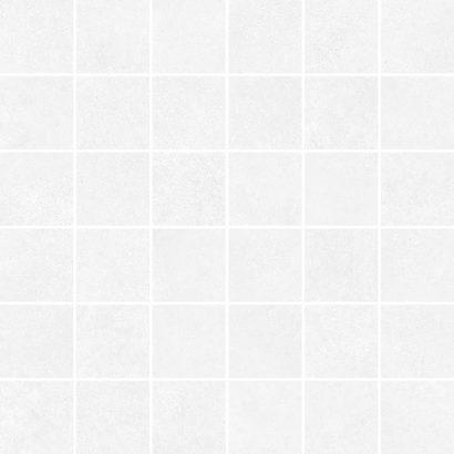Керамическая плитка Cement Мозаика белый 30×30