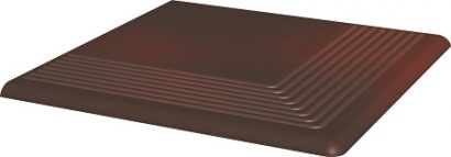Клинкер Cloud Brown ступень угловая 30×30  10 (шт)
