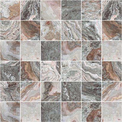 Керамическая плитка Gray Мозаика серый 30×30