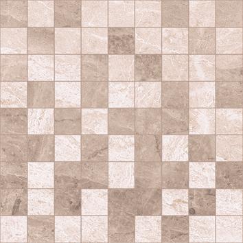 Керамическая плитка Pegas Мозаика 30×30 коричневый+бежевый