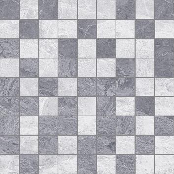 Керамическая плитка Pegas Мозаика 30×30 т.серый+серый