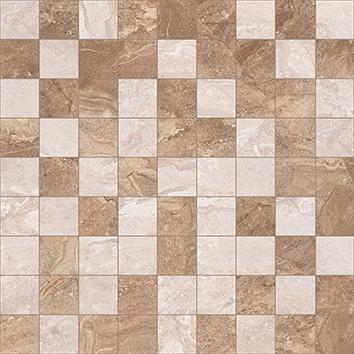 Керамическая плитка Polaris Мозаика коричневый+бежевый 30×30