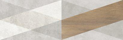 Керамическая плитка Стен Плитка настенная Декор 4 1064-0330 20×60