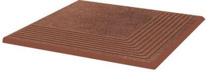 Клинкер Taurus Brown Ступень угловая структурная 30×30×1