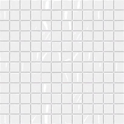Керамическая плитка Темари белый мозаика  20003 29