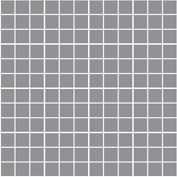 Керамическая плитка Темари Плитка настенная графит матовый (мозаика) 20064  29
