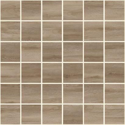 Керамическая плитка Timber Мозаика коричневый 30×30