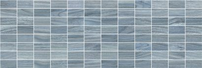 Керамическая плитка Zen Декор мозаичный синий MM60067 20×60