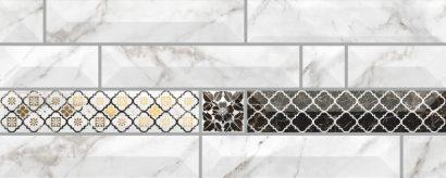 Керамическая плитка Атлантида 7 Вставка 20×50