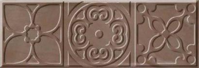 Керамическая плитка Bulevar Altair Moka Decor Декор 100×300 мм 16