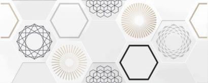 Керамическая плитка Даймонд 7 Панно 20×50