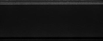 Керамическая плитка Даниэли Бордюр черный обрезной BDA002R 30×12