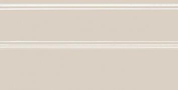 Керамическая плитка Даниэли Плинтус бежевый  обрезной FMA009R 30×15