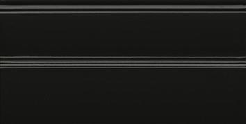 Керамическая плитка Даниэли Плинтус черный обрезной FMA010R 30×15