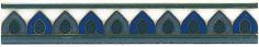 Керамическая плитка Девоншир Бордюр STG A190 5155 20×3