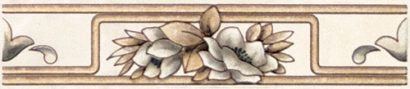 Керамическая плитка Элегия бордюр коричневый F1725 6170 - 250×54 мм 30