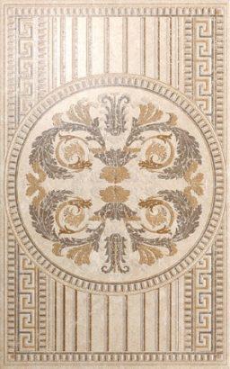 Керамическая плитка Феличе Декор вензель AC196 6193 25×40