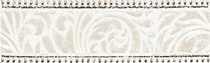Керамическая плитка Fiora white Бордюр 01 7