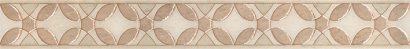 Керамическая плитка Галдиери Бордюр напольный беж лаппатированный ALD B08 SG2210L 60×7