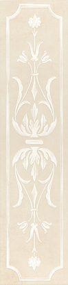 Керамическая плитка Каподимонте Бордюр беж STG B383 11099 60×14