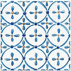 Керамическая плитка Капри Вставка напольная майолика STG A485 1146 9