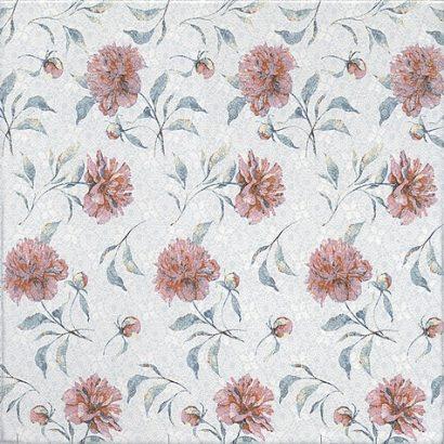Керамическая плитка Ковентри Плитка напольная Цветы 4221 40