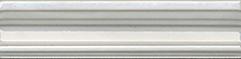 Керамическая плитка Летний сад Бордюр Багет светлый BLB017   5×20