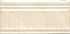 Керамическая плитка Летний сад Бордюр беж структурированный 19017 3F   9