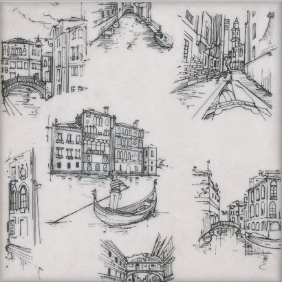 Керамическая плитка Марчиана Декор Venezia STG A539 5261 20×20