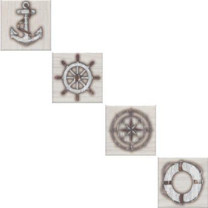 Керамическая плитка Марекьяро Вставка напольная беж светлый SG952200N 7 33047 7 10×10