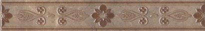 Керамическая плитка Мармион Бордюр MLD B06 6240 40×6