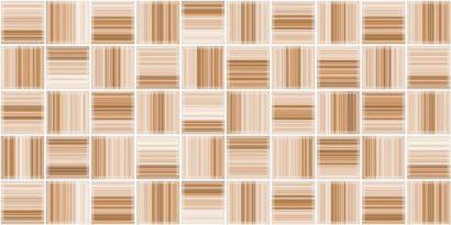 Керамическая плитка Меланж Декор 10-30-11-440 50×25 (Мозаика)