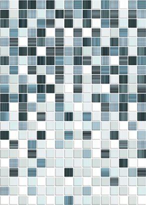 Керамическая плитка Motive Декор синий 2 (MF2M042DT) 25×35