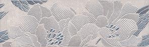Керамическая плитка Низида Бордюр серый STG A447 12089R 25×8