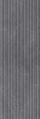 Керамическая плитка Низида Плитка настенная серый структура 12094R 25×75