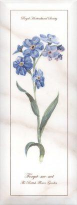 Керамическая плитка Ноттингем Декор Цветы грань NT A83 15005 15×40