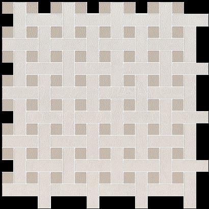 Керамическая плитка Сафьян Декор бежевый мозаичный SG183 001 42