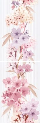Керамическая плитка Sakura Панно P2D131 20×60 (из 2-х пл.)