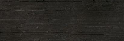 Керамическая плитка Shades black Плитка настенная 02 25×75